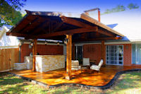 Custom Patio and Patio Covers in Denton, Texas